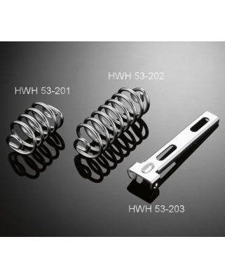 Pružina 75mm Highway Hawk pro upevnění moto sedla