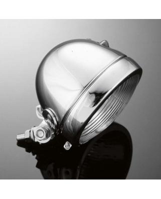 Přídavné moto světlo Highway Hawk BATES, Ø115mm, chrom (1ks)
