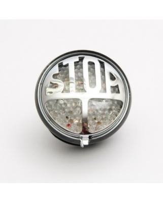 Koncové moto světlo Highway Hawk STOP s LED, homologované