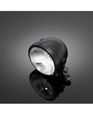 Prídavné moto svetlo Highway Hawk Bates, čierne (1ks), homologované