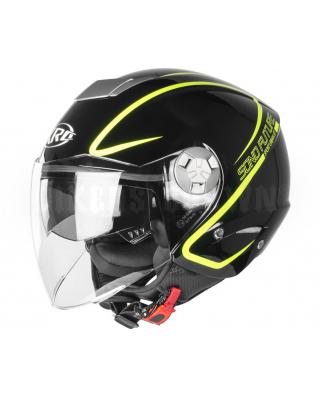 XRC 650 Sono Future 004 glossy black/fluo yellow vel.M