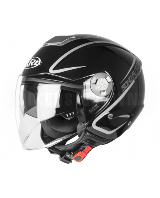 XRC 650 Sono Future 003 glossy black/grey vel.M
