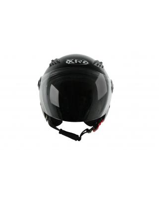 XRC 801 S black otevřená přilba se sl. clonou