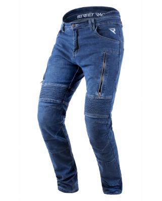 Kevlarové jeansy na motorku Street Racer Basic
