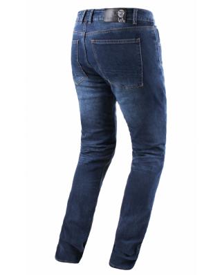 Kevlarové jeansy na motorku Street Racer Daily