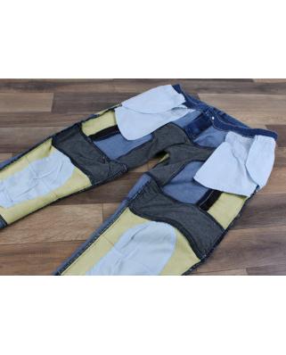 Kevlarové jeansy na motorku Street Racer Stretch